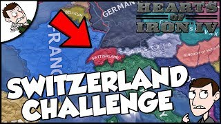 Hearts of Iron 4 HOI4 Switzerland Survival Challenge (Road to 56 Mod)