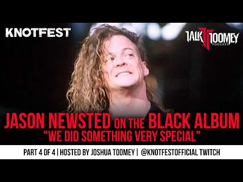 """Jason Newsted on the Black Album """"We Did Something Very Special"""""""