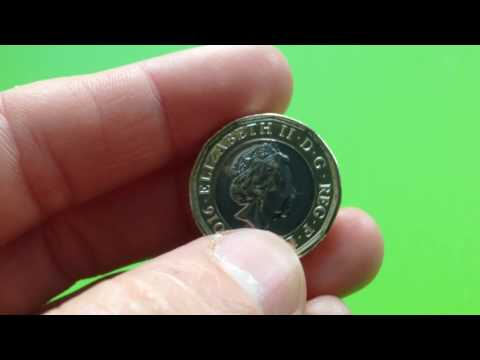 New £1 coin 12 - sided