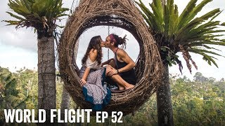THE BALI LOVE NEST! - World Flight Episode 52