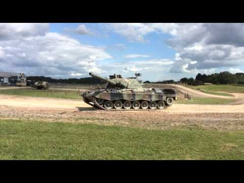 Leopard tank at Bovington Tank Museum