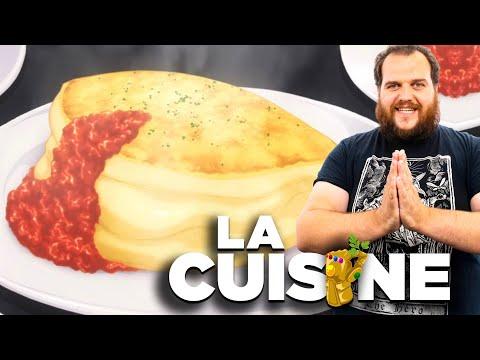 foodwars!-:-l'omelette-soufflÉe-de-soma-/-brioche-perdue-compote-de-poires-!-(la-cuisine-confinee)