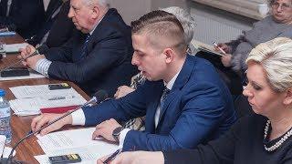 Sesja rady powiatu ostrowskiego (31.01.2019)