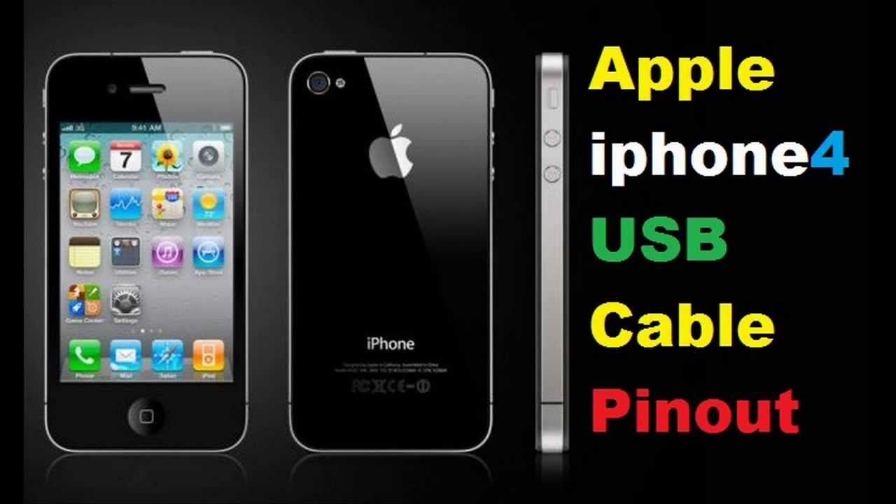 apple iphone4s usb cable pinout [ 1280 x 720 Pixel ]