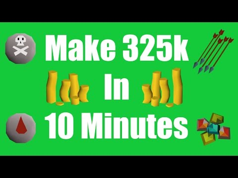 [OSRS] Make 325k in 10 Minutes with No Requirements - Daily Oldschool Runescape Money Making Method!