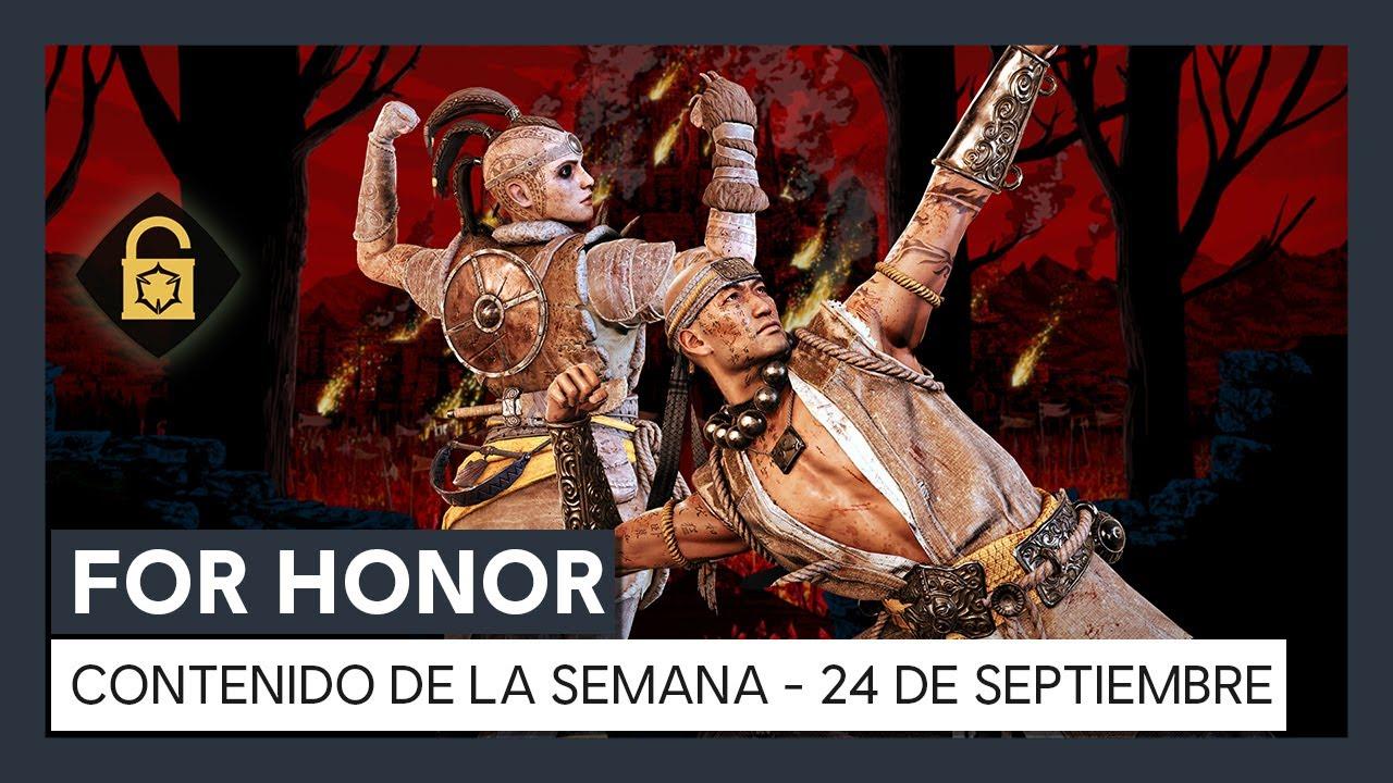 FOR HONOR - CONTENIDO DE LA SEMANA - 24 DE SEPTIEMBRE