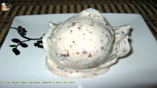 Red Bean Ice Cream