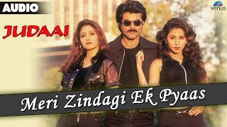 Judaai : Meri Zindagi Ek Pyaas Full Audio Song | Anil Kapoor, Urmila Matondkar & Sridevi |