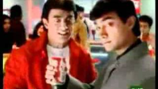 Aamir Khan 1st Coca Cola Old Indian Doordarshan Ad
