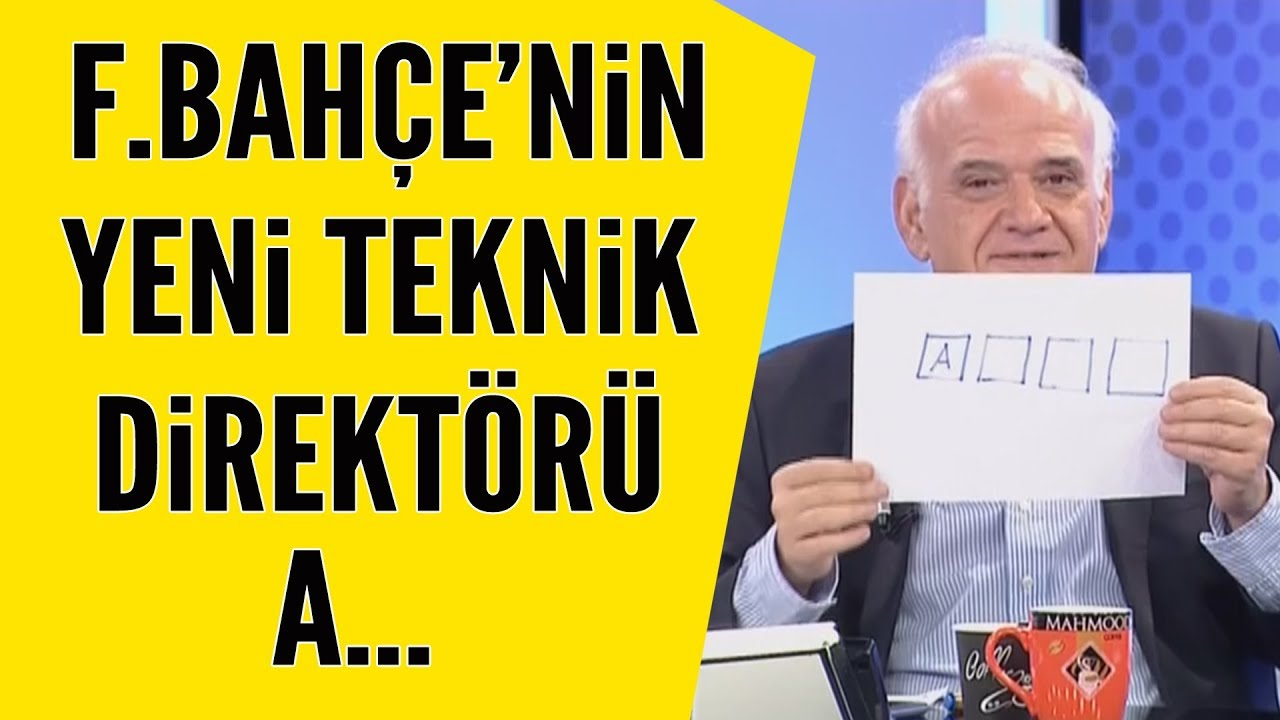 Ahmet Çakar, Fenerbahçe'nin yeni teknik direktörünü açıkladı!