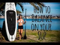 Balancing Tips on Stand Up Paddle Boarding