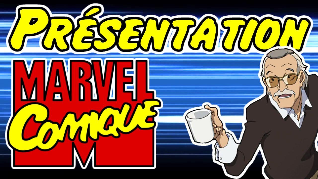 Présentation de la chaîne Marvel Comique (ft. Stan Lee)