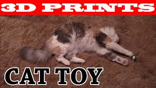 Cat Toy created with Blender & Printrbot