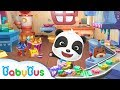 Baby panda s candy shop cooking pretend play kids games game trailer babybus game mp3
