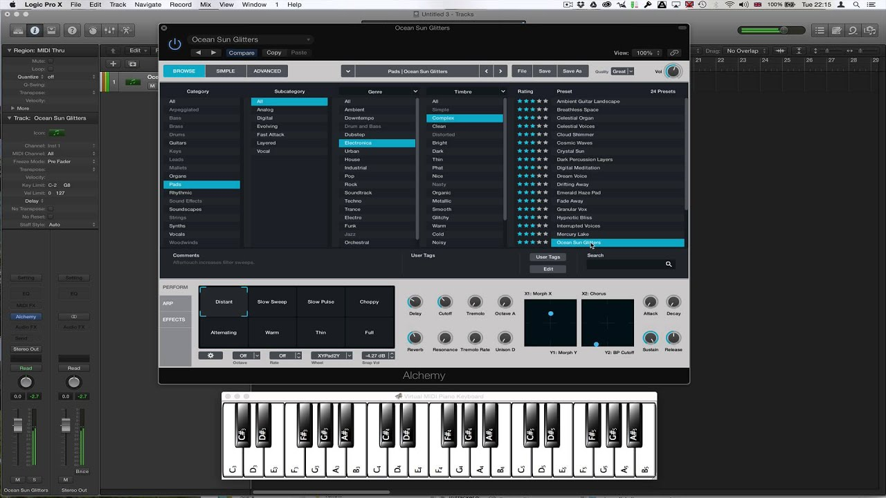 how to get alchemy logic pro