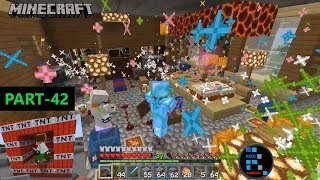 MINECRAFT GAMEPLAY | CELEBRATING MAYURBHAI'S BIRTHDAY PARTY WITH TNT#42