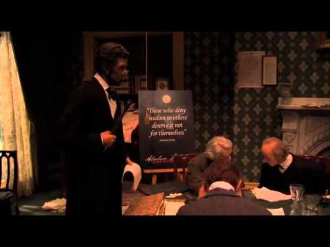 Abe Lincoln Presidential Library - Museum B-Roll.mp4