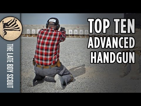 Top 10 Advanced Handgun Skills Taught at Front Sight