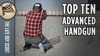 Top 10 Advanced Handgun Skills Taught at Front Sight