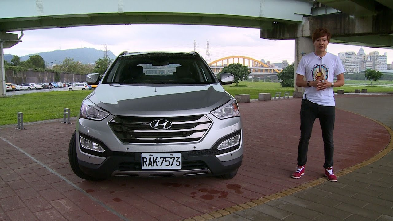 Hyundai SantaFe 來自星星的山土匪試駕 - YouTube