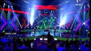 """Paraziţii feat Mr. Levy - """"Arde"""" - X Factor Romania, sezonul trei"""