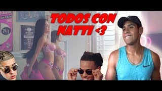 Natti Natasha & Bad Bunny - Amantes de Una Noche  Official Video REACCION CESKEL