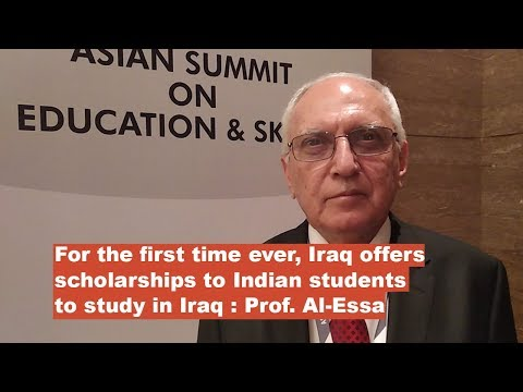 For the first time ever Iraq offers scholarships to Indian students to study in Iraq