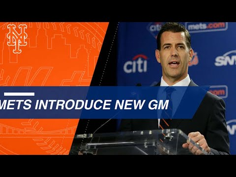 Brodie Van Wagenen is introduced as the Mets' new GM