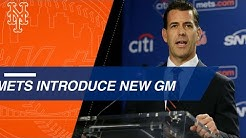 Brodie Van Wagenen is introduced as the Mets' new GM