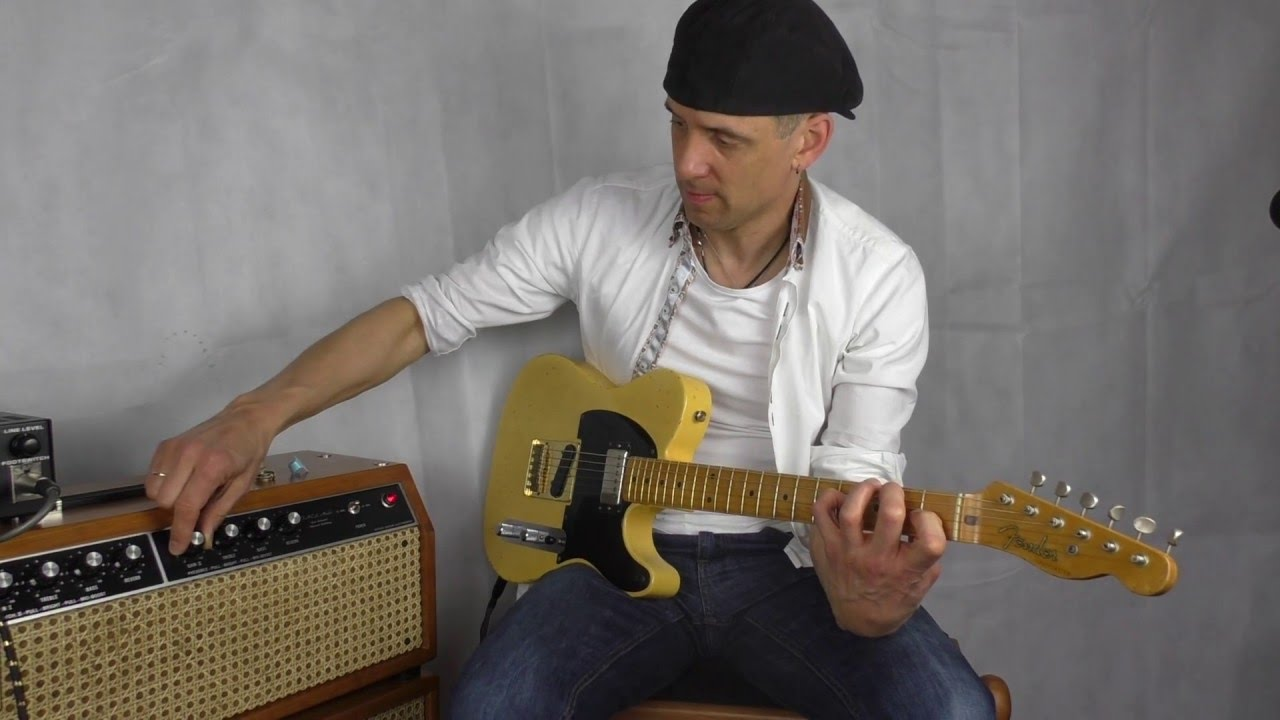 Jim Kelley Facs Amp And Fender Telecaster Keith Richards Style