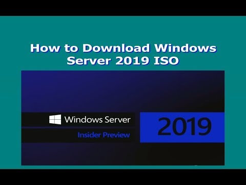 How to Download Windows Server 2019 ISO