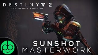 destiny 2 sunshot exotic explosions pvp gameplay review