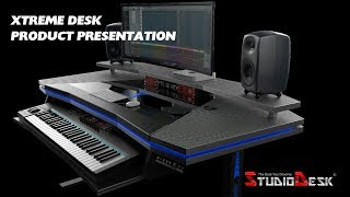 Xtreme Sit and Stand workstation by StudioDesk