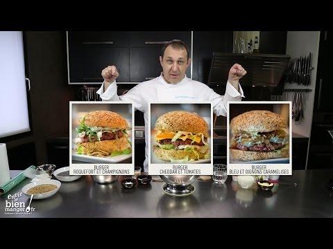 Comment faire des buns maison, les fameux pains à burger ?