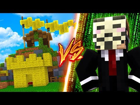 DANIELS FESTUNG vs. MINECRAFT HACKER!