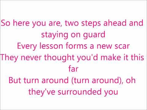 Taylor Swift - Keep your eyes open lyrics