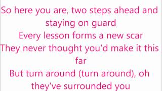 Taylor Swift - Keep your eyes open lyrics