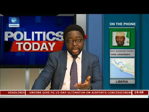 Liberia Decides: INEC Chairman Lauds Voter Education In Liberia |Politics Today|
