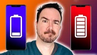 Ahorra batería configurando los colores de la pantalla del móvil
