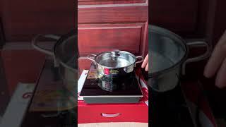 KHUYẾN MÃI Bếp từ đơn ELMICH 7950 tặng nồi lẩu đẹp
