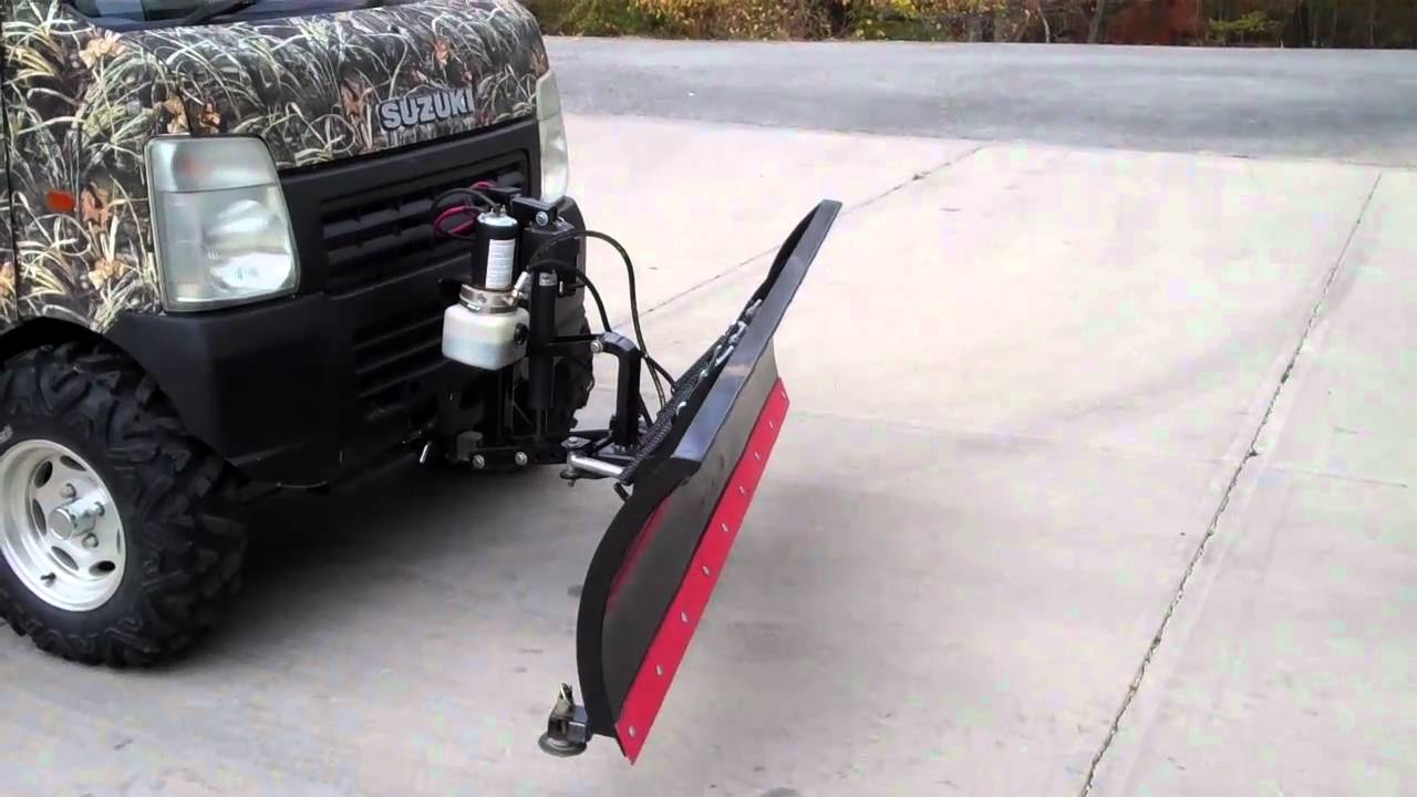 Suzuki Mini Truck Snow Plow