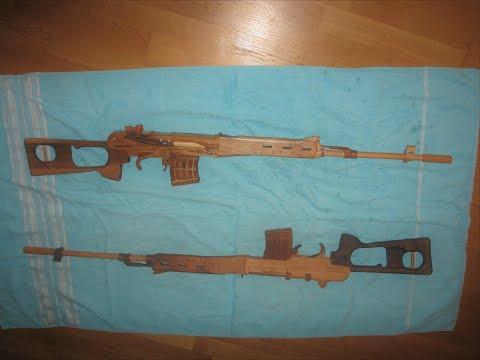 #Svd Dragunov rubber band gun tutorial #free templates very easy - AUTgeSKIPPT