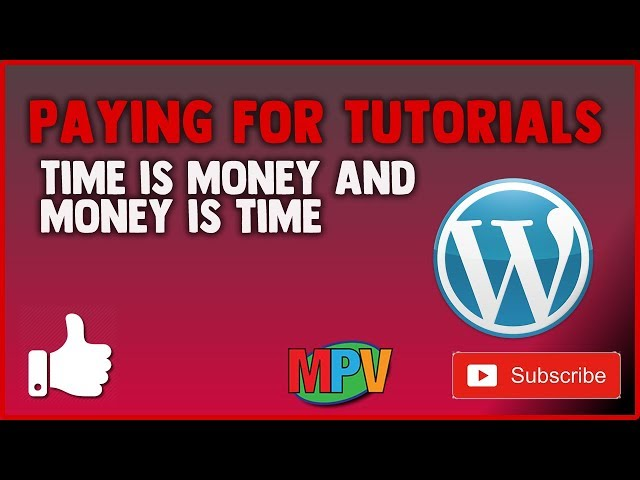 PAYING FOR TUTORIALS || Time is money and Money is time (2.11.19) #1236