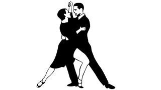 How to Draw a Tango Dancers / Как нарисовать Пару, Танцующую Танго