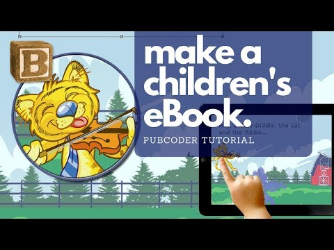 How to Create Children's Interactive Books, without Coding!