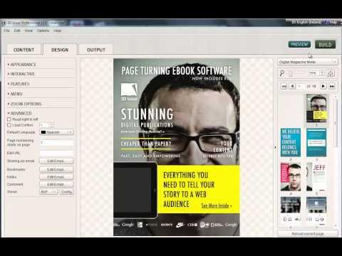 3D Issue V5: Design: Advanced | PDF to Flash & HTML5  Digital Magazine