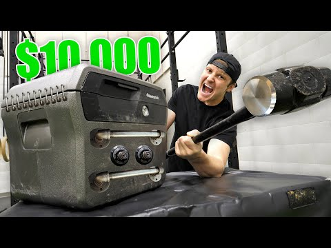 BREAKING INTO $10,000 OF LOST AIRPORT LUGGAGE!! (Buying $10,000 Lost Luggage Mystery Auction)