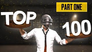 TOP 100 CLIPS OF PUBG OF ALL TIME Part 1 | PUBG MONTAGE