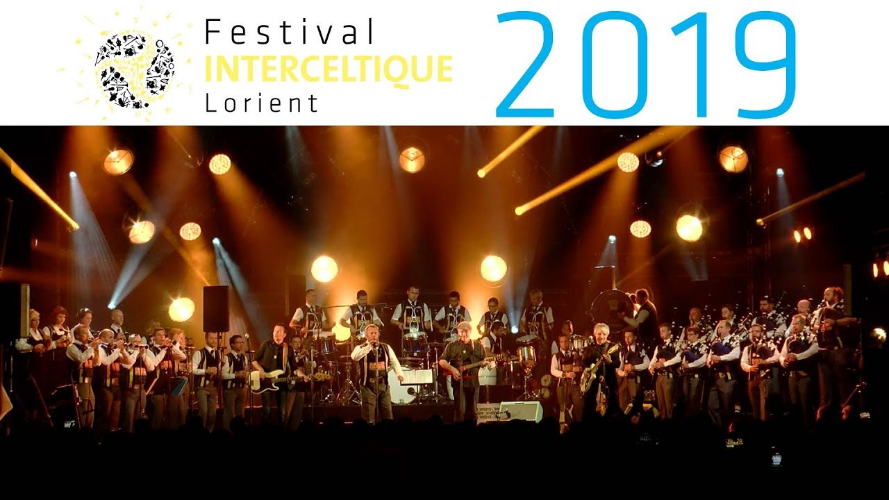 « Nerzh » : 70 ans du Bagad Kemper avec Red Cardell - Festival Interceltique de Lorient 2019
