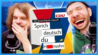 SPRICH DEUTSCH du H****SOHN! - Reddit Review